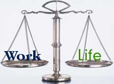 Flex time is just one component of work life balance. We will talk about the other components at a later date.