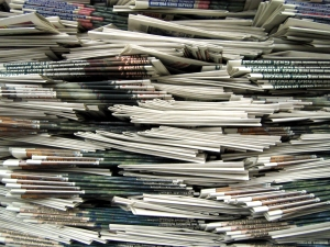 Newspaper Stack HR