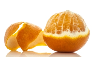 Peeled Orange