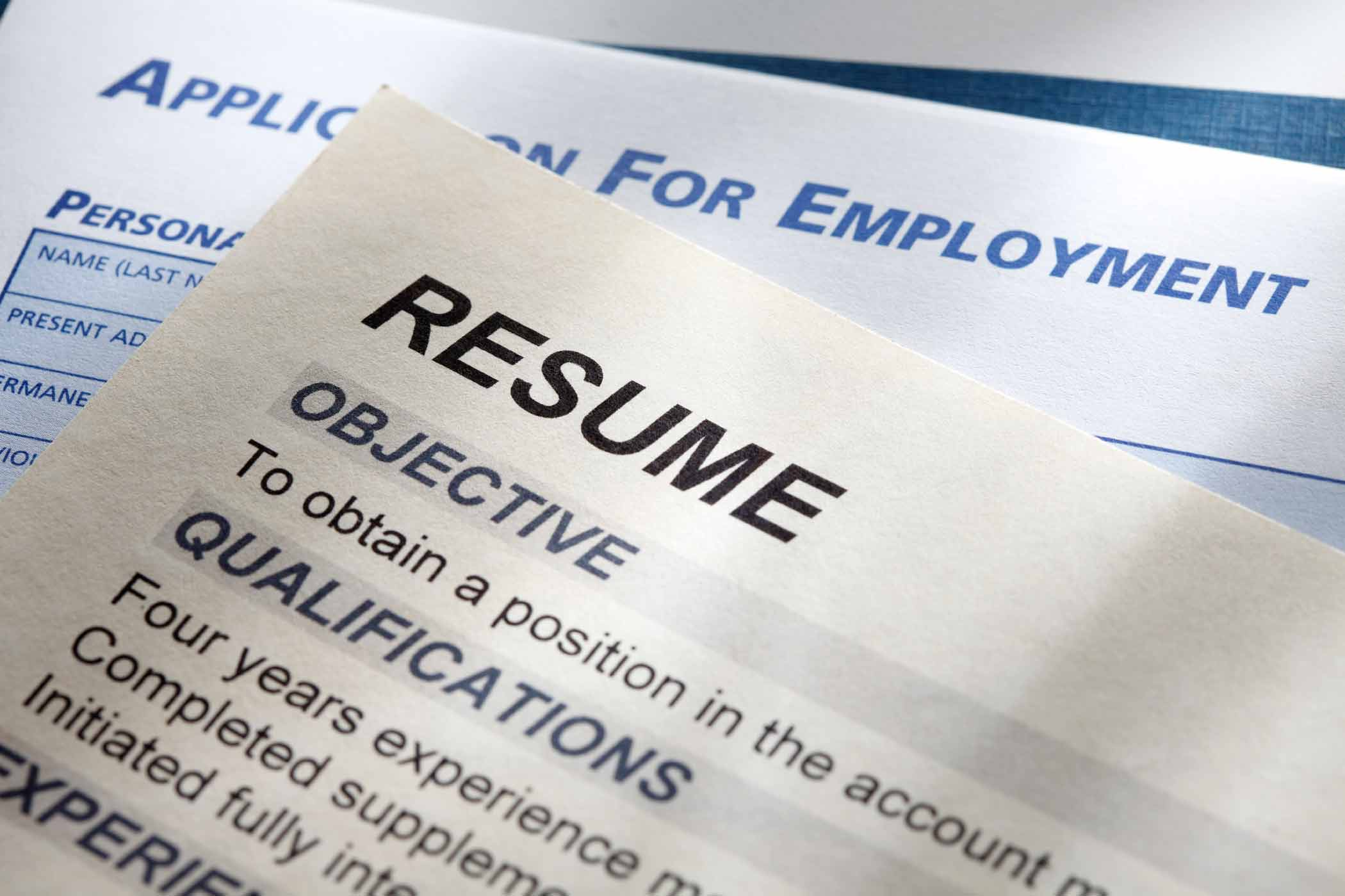 resume writing styles