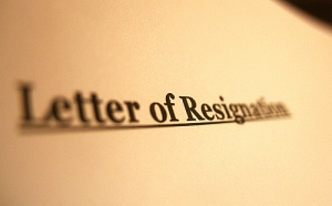 Letters of Resignation