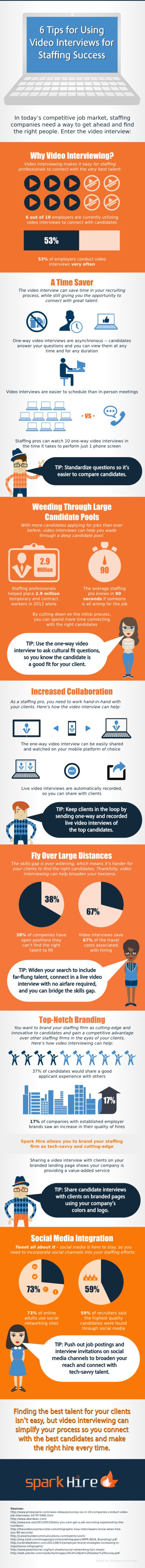 6-Tips-for-Using-Video-Interviews-for-Staffing-Success-Infographic