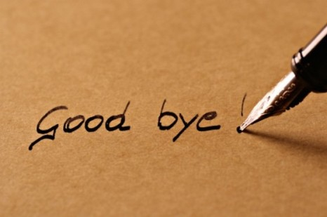 Today, I say Goodbye… | Someth...
